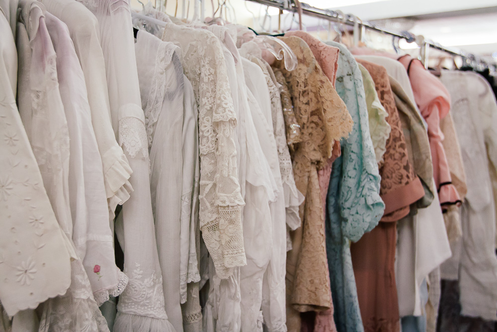 Vintage Clothing and Textile Show - clothes