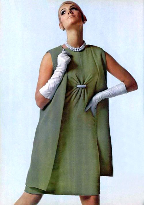 Fashion by Givenchy for L'officiel magazine, 1967