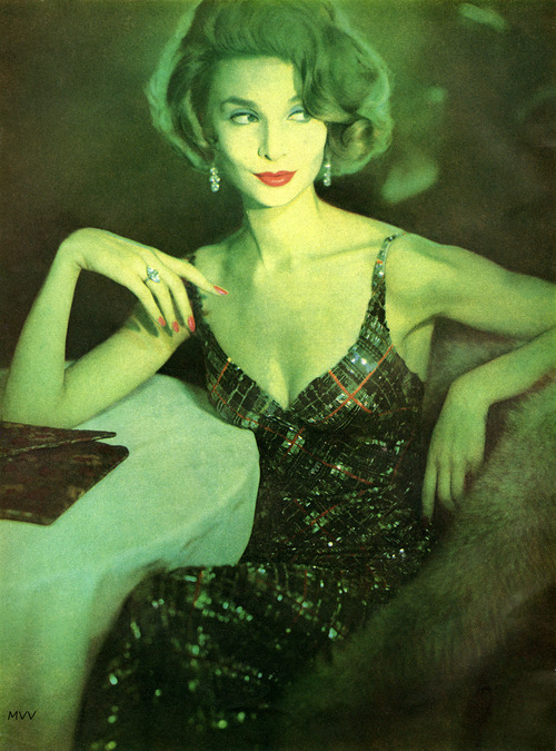 Harper's Bazaar October 1957