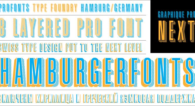 vintage fonts - graphique pro