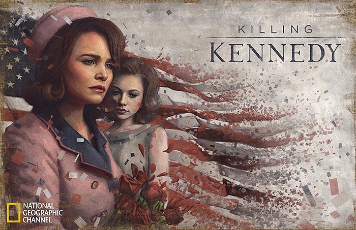 Killing Kennedy painting by Sam Spratt