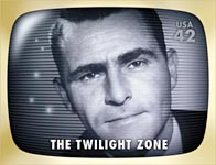 Twilight Zone stamp